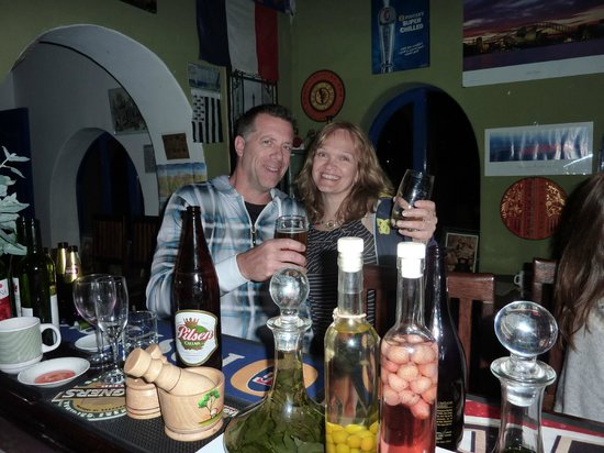 La Capilla Lodge : At the bar