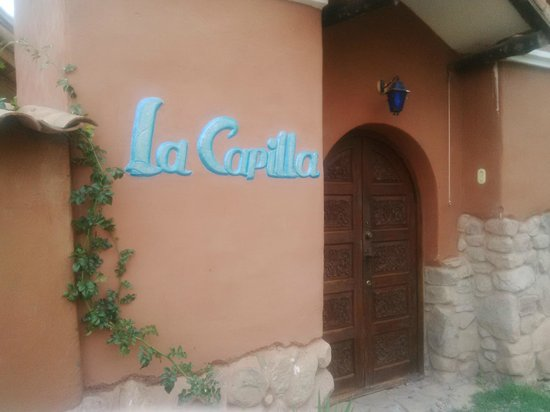La Capilla Lodge : Entrance