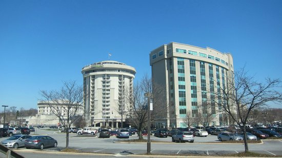 Valley Forge Casino Resort: Casino tower on left with Radisson on right