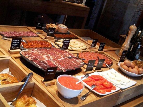 Hacienda Zorita Wine Hotel & Spa: une partie du buffet du petit dejeuner