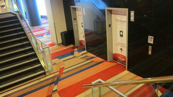 Valley Forge Casino: Elevator lobby area