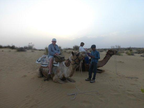 HACRA Dhani: Desert transport!