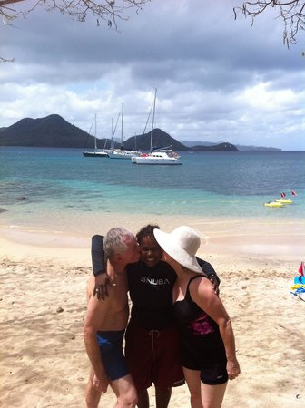 Snuba Saint Lucia: Thank Yous from Rita & Randy to CoCo Puffs