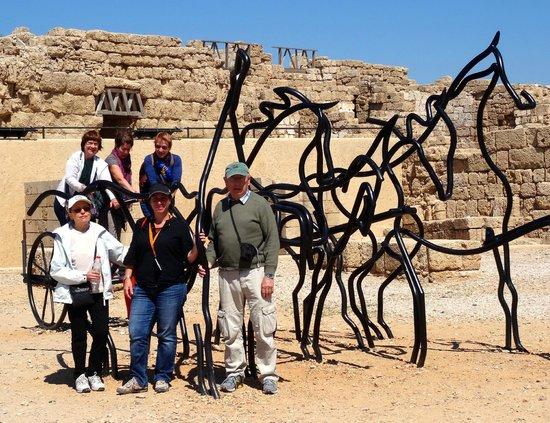 Guide Touristique a Jerusalem Day Tours: Cesaree