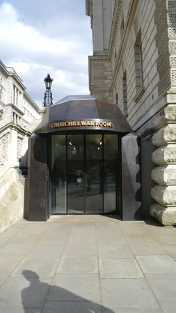 Entrance to the Churchill War Rooms