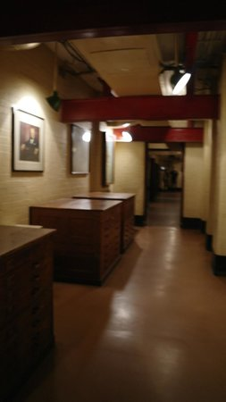 Corridor of the Churchill War Rooms