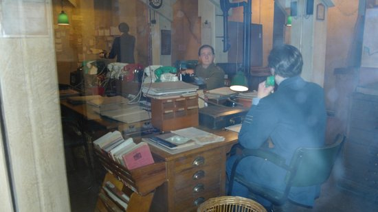 Churchill War Rooms: Map Room at Churhcill War Rooms