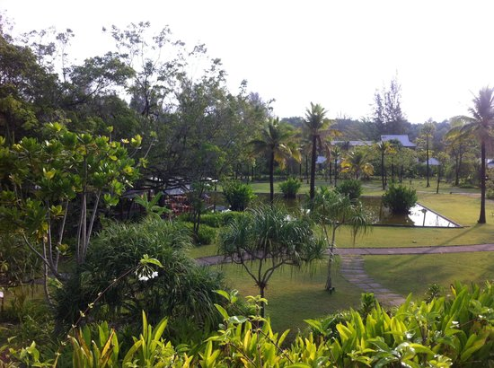 The Sarojin : giardino