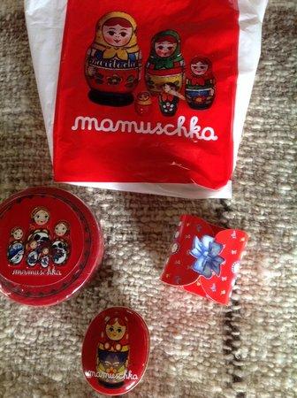 Mamuschka: packaging