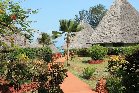 Ras Nungwi Beach Hotel: Beautiful Grounds