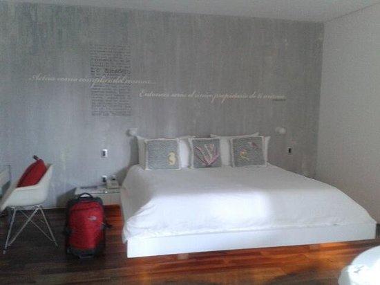 Be Playa Hotel: La cama muy confortante
