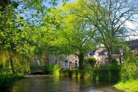 Le Moulin du Pont d'Iverny : Le Moulin au printemps