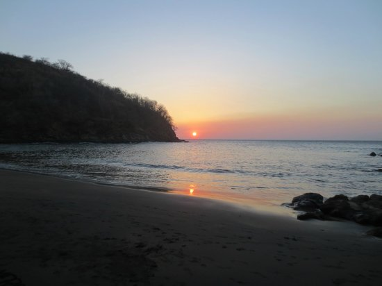 Bahia Pez Vela Resort: beautiful sunsets