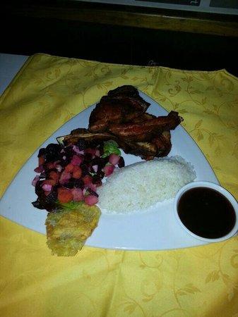 Restaurante Mi Rincon: Costilla ahumadas