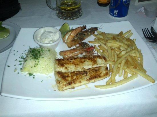 La Hola: My dinner