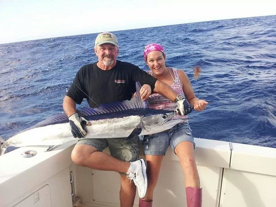 Cara Mia Fishing Charters: Thank You Captain Blain, Tom, Maria, and Andy on this catch of a lifetime couldn't have done it