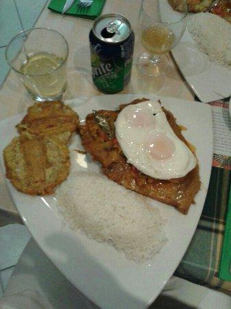 Restaurante Mi Rincon: Sobrebarriga con capul
