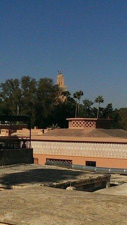 Hotel Cecil Marrakech: Blick beim Frühstück