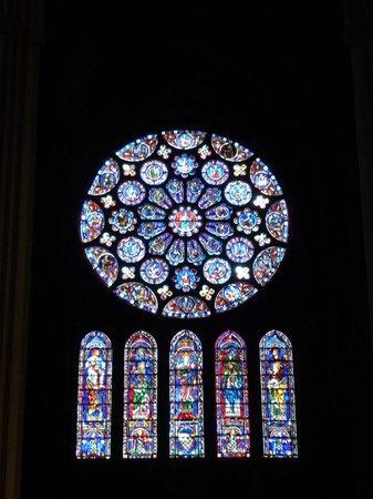 Cathédrale de Chartres : The Rose window