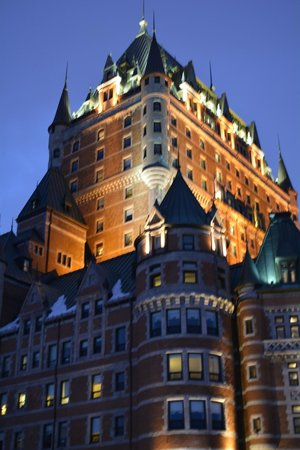 Old Quebec: Chateau Frontenac.