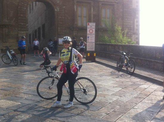 Viaggiare in Bici: io!