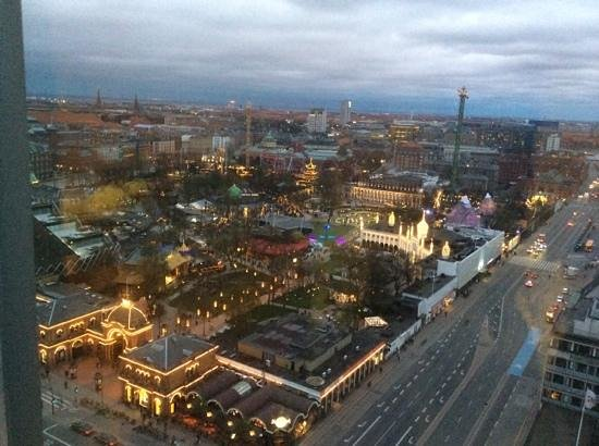 Radisson Blu Royal Hotel Copenhagen : View from room 1809