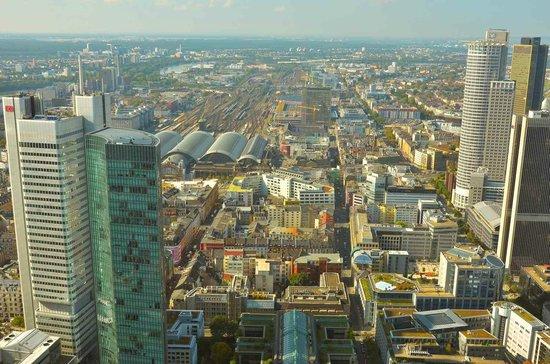 Main Tower : Blick vom Maintower, Frankfurt