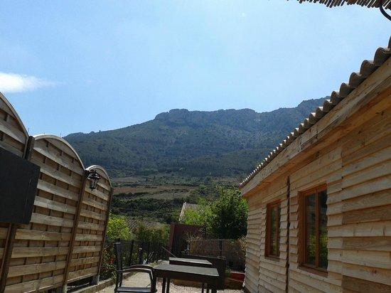 Le Pichenouille : vue la montagne