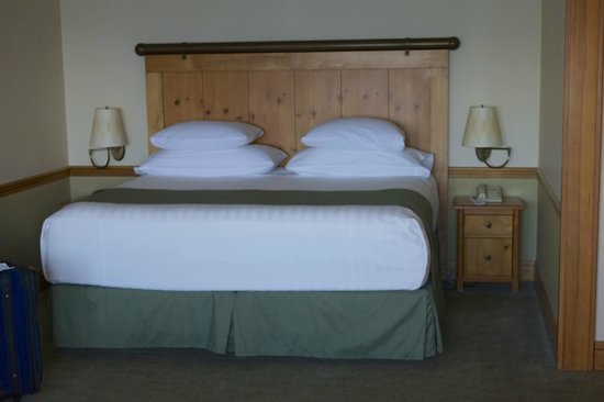 Semiahmoo Resort: The comfy bed