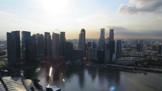 Marina Bay Sands Skypark: Aussicht von der Plattform