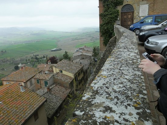 Osteria del Borgo: Views!!