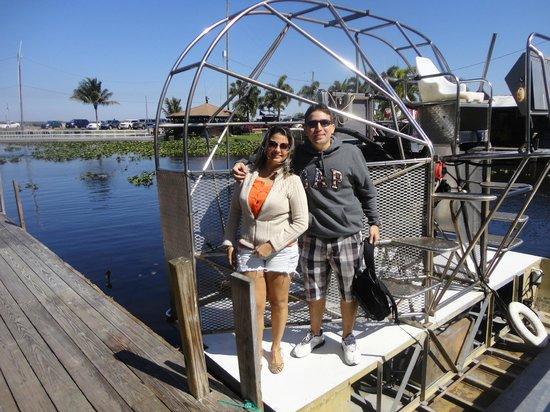Everglades Safari Park: Aerobarco