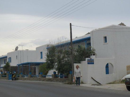 Stratos Studios: Hotel wiew
