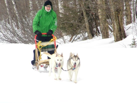 Escapade Laurentides Canin: our guest from France loved it!