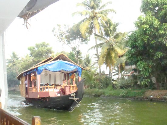 Triveny River Palace: Back Waters Boat Trip