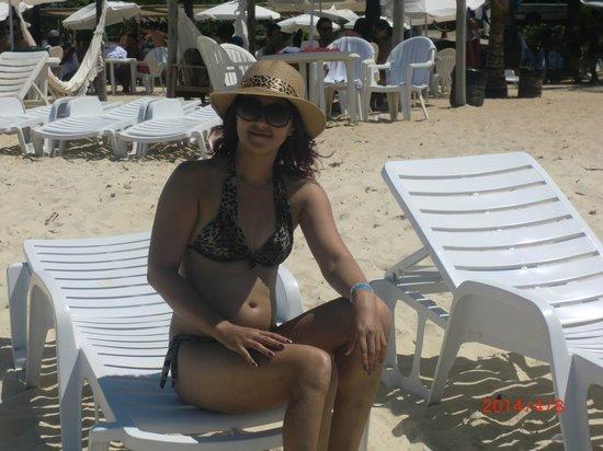 Resort La Torre: na praia