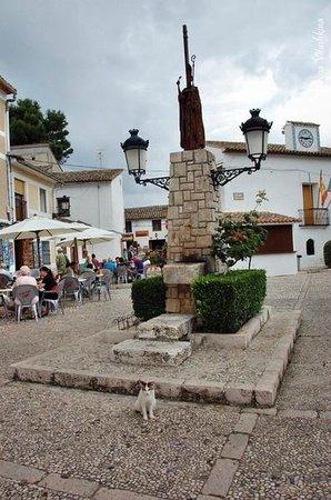 Valle del Guadalest: Площадь