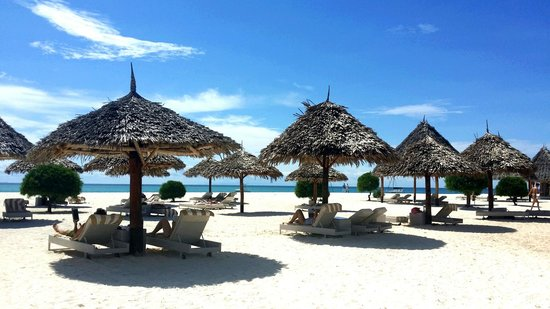 Gold Zanzibar Beach House & Spa: Private beach
