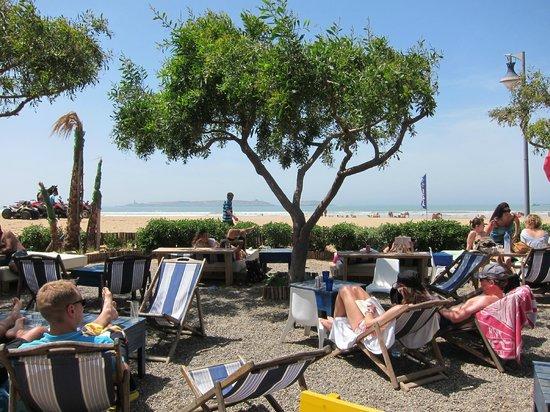 Ocean Vagabond: Utsikt från restaurangen