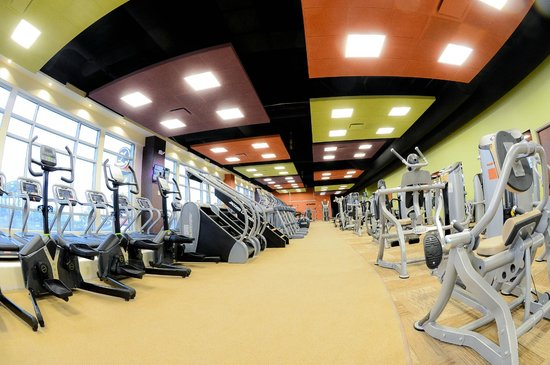 Aloft Cleveland Downtown : Complimentary Access to EB Fitness for all hotel guests