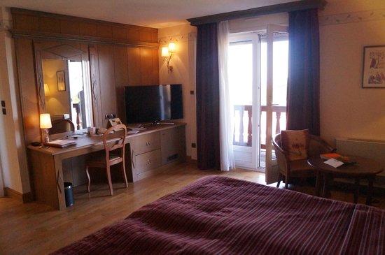Hostellerie des Châteaux & Spa : vu de la chambre (412)