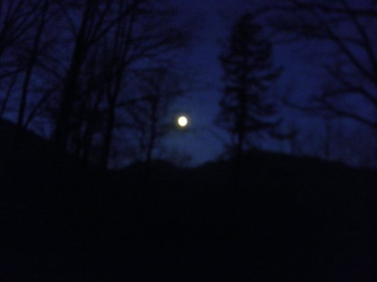 Nolichucky Gorge Campground: Full Moon