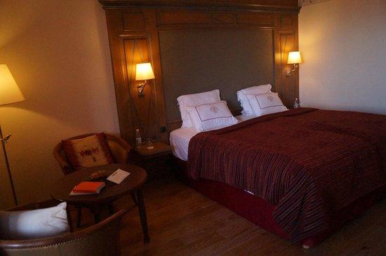 Hostellerie des Châteaux & Spa : le grand lit double
