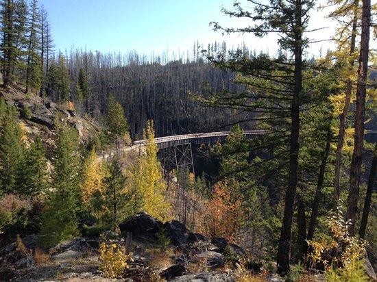 Myra Canyon Park: Myra Canyons