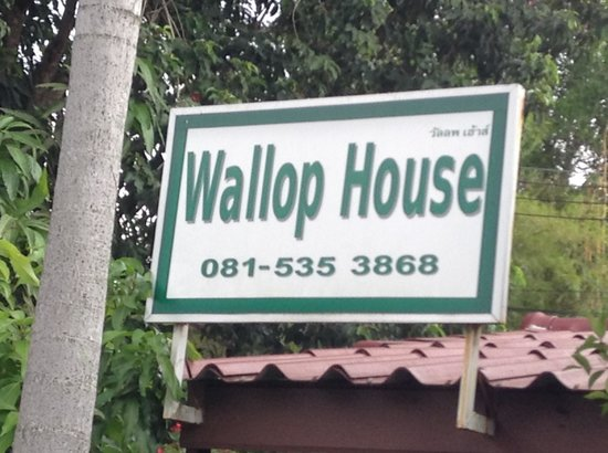 Wallop House: Wallop!!