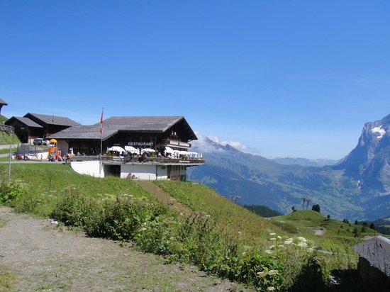 The Eiger: Restaurante Eiger Nordwand
