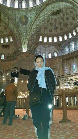 Historic Areas of Istanbul: Султан ахмед голубая мечеть,очень красиво!