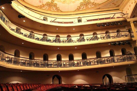Teatro São Pedro: Galerias do teatro