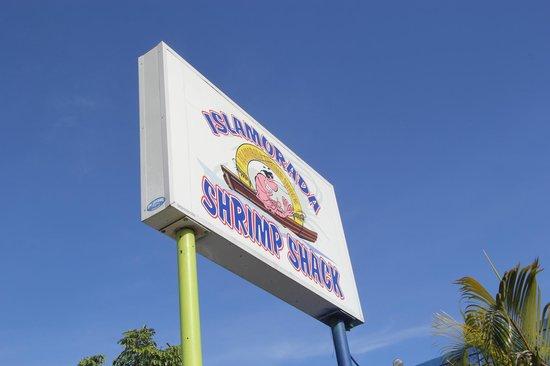 Islamorada Shrimp Shack : Вывеска, которая вам нужна