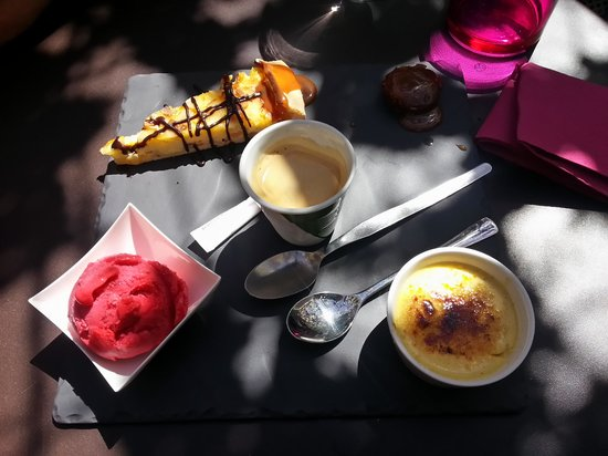 La Courtine: le café gourmand